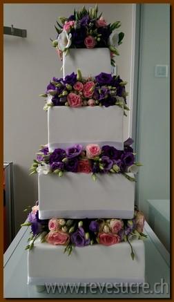 Gâteau De Mariage à Lausanne Yverdon Fribourg Payerne